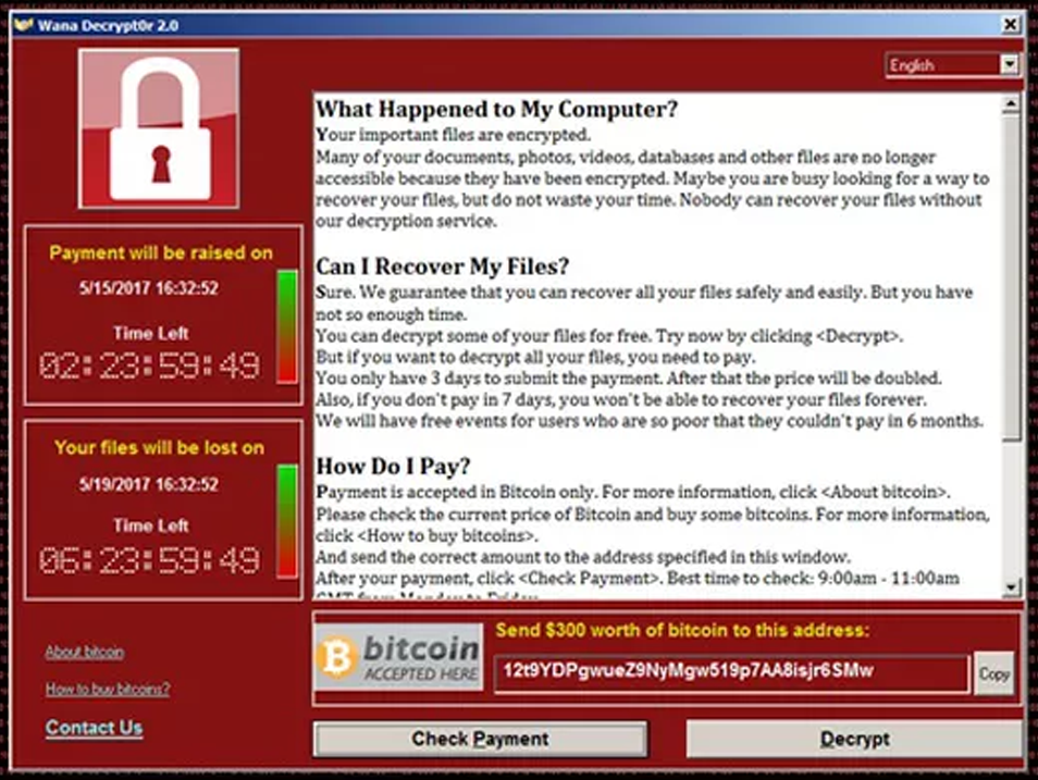 [Ataque Virtual WannaCry]